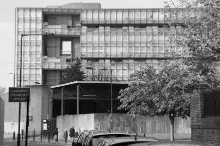 Changed Priorities Ahead_view from Naval Row_Robin Hood Gardens_2014_Jessie Brennan